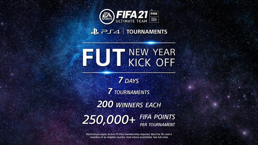 Начните новый год турнирами FUT на PS4