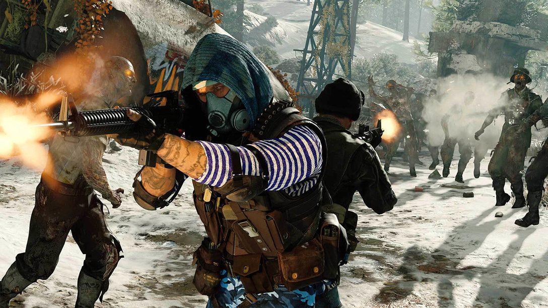 Неделя бесплатного доступа к новому режиму «Зомби» в Black Ops Cold War на PS4