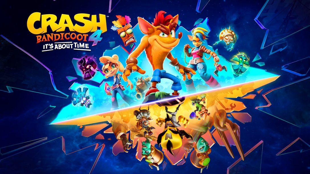 «Crash Bandicoot 4: Это вопрос времени» – в продаже на PS5 с 12 марта