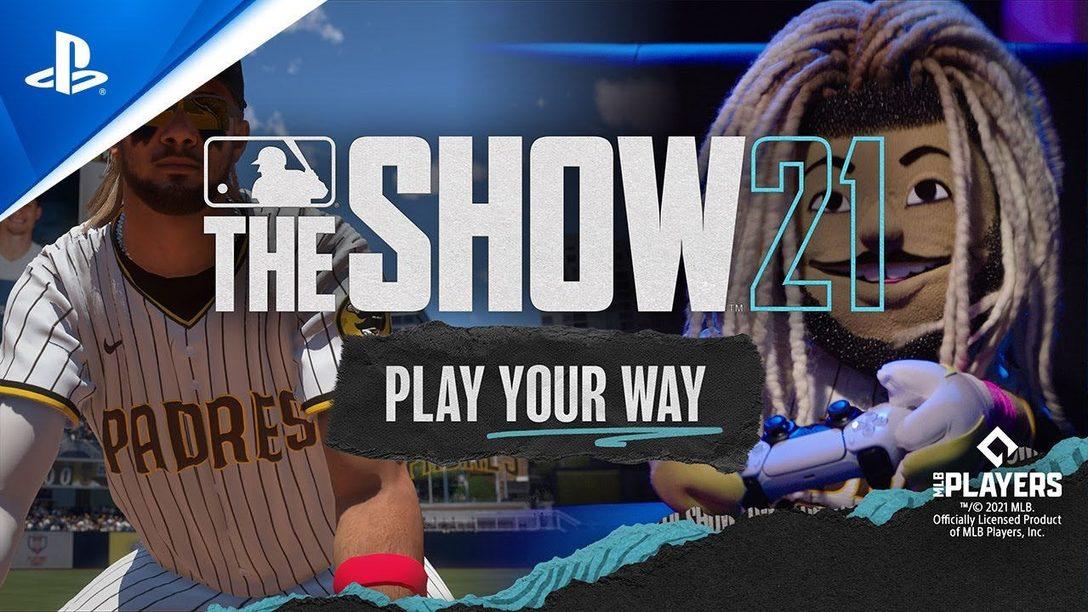 MLB The Show 21 представляет: Stunt on your Rivals с Тренером и Фернандо Татисом — младшим (в виде куклы).