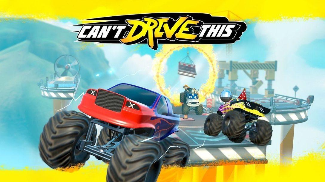Can't Drive This: безумие на разделенном экране доберется до PS4 и PS5 19 марта