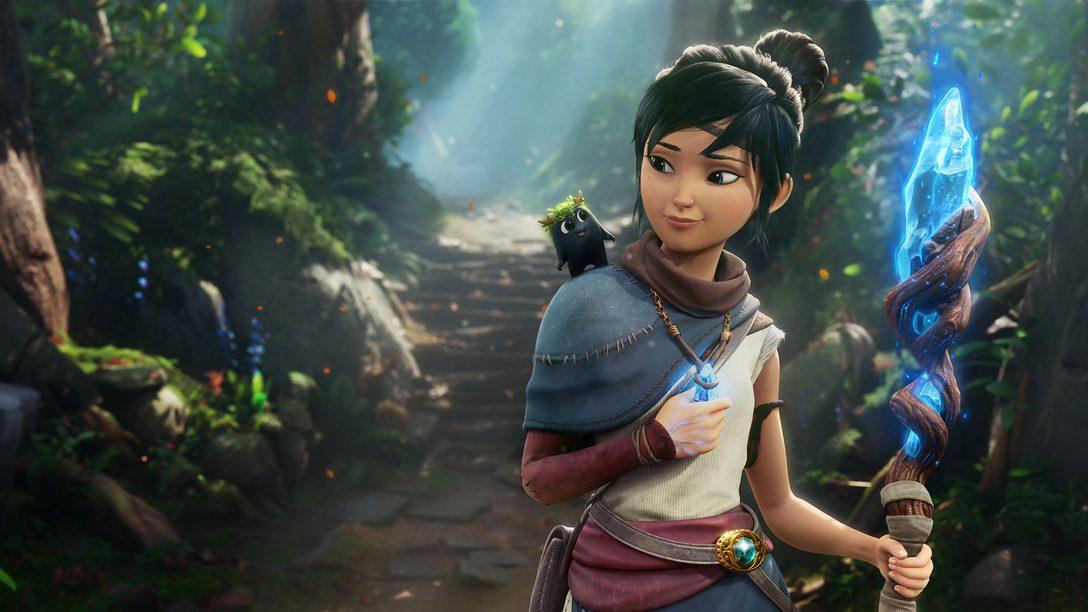 Трогательный ролик рассказывает об игровом процессе и сюжете Kena: Bridge of Spirits