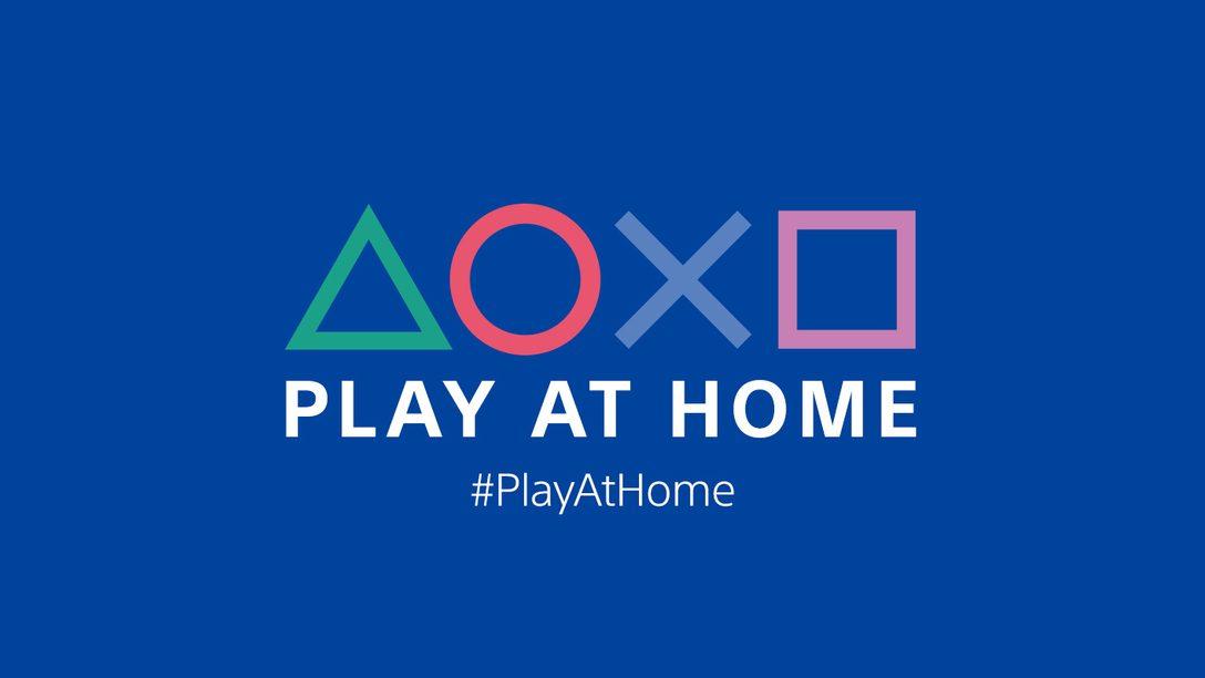 Инициатива Play At Home возвращается 2 марта – вас ждет четыре месяца бесплатных игр и развлечений PlayStation