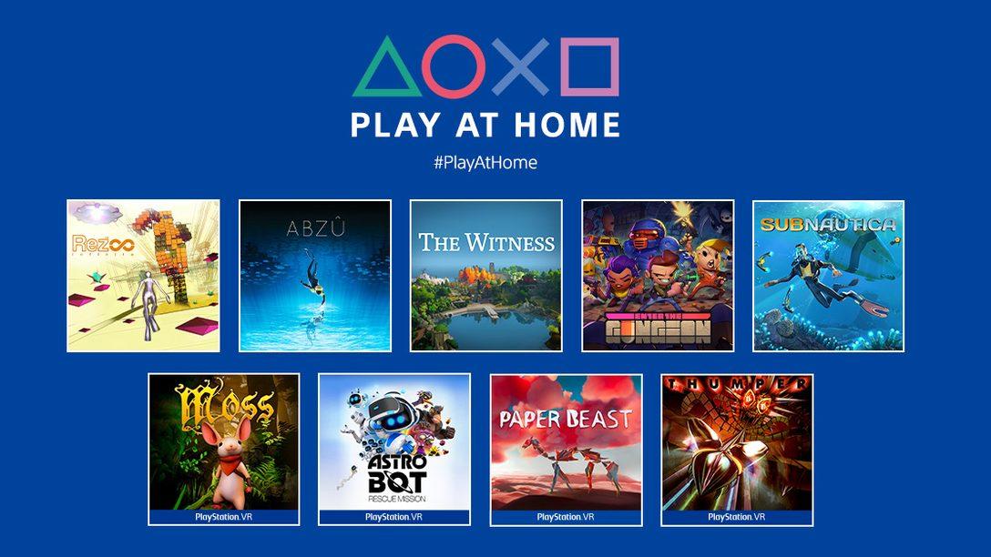 Новости инициативы Play at Home 2021: 10 бесплатных игр, которые вы сможете загрузить этой весной