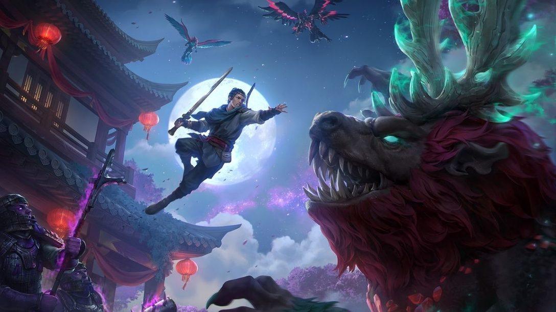 Сегодня выходит дополнение Myths of the Eastern Realm для игры Immortals Fenyx Rising на PS4 и PS5