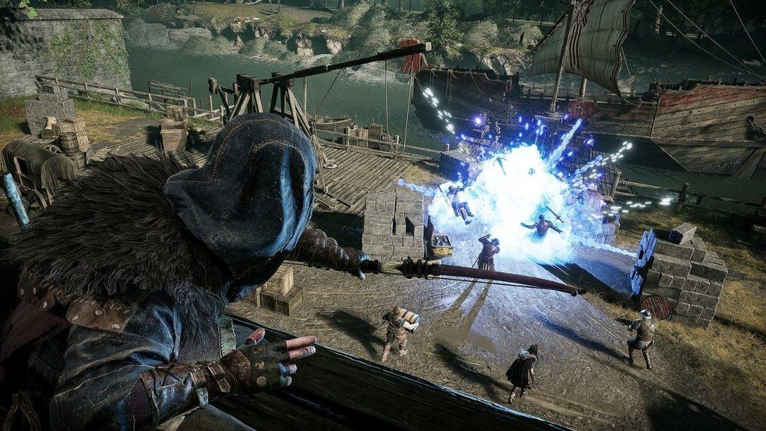 Использование возможностей контроллера DualSense в Hood: Outlaws & Legends