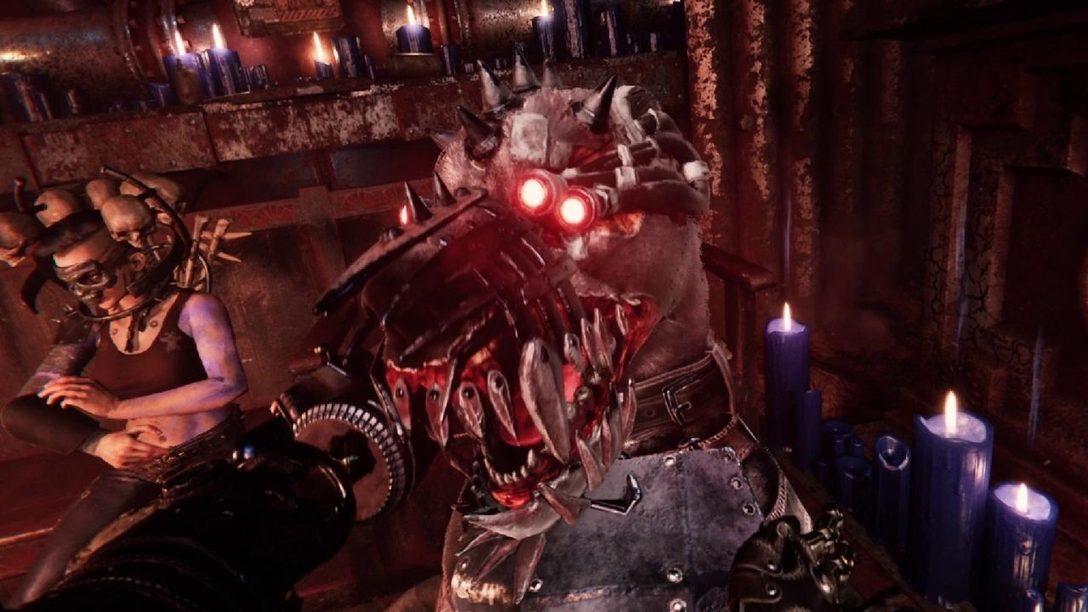 Necromunda: Hired Gun — научно-фантастический шутер, побеждать в котором вам помогут ловкость и верный кибермастиф