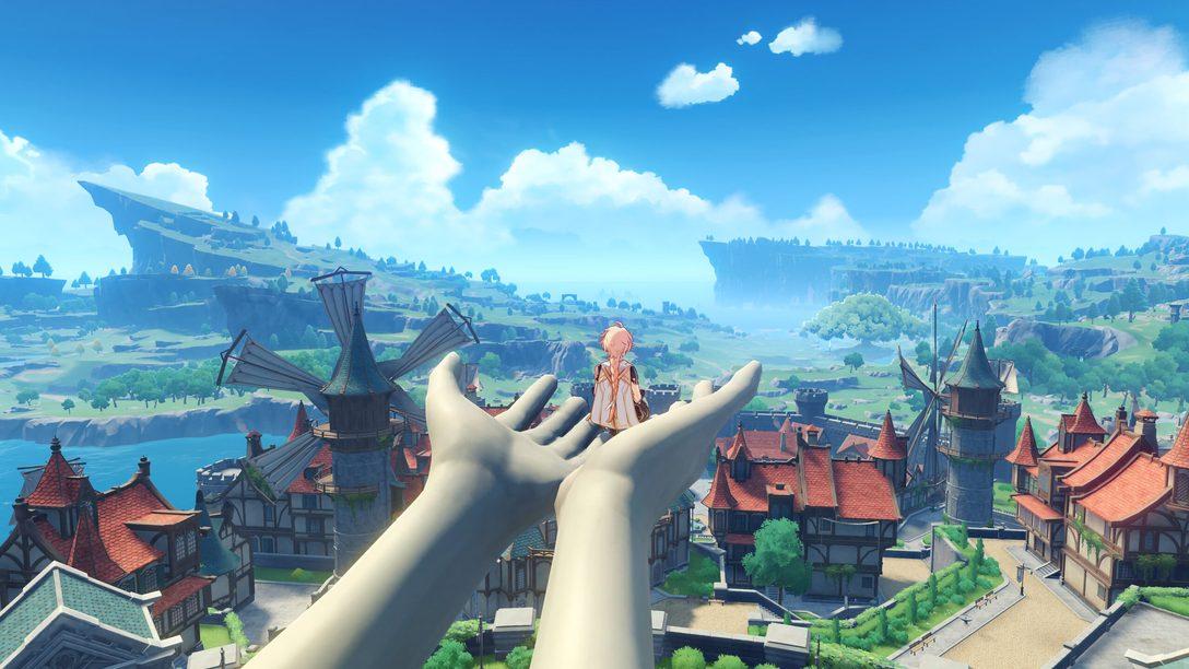 28 апреля Genshin Impact выходит на PS5. Путешествие в открытом мире на консоли нового поколения начинается!