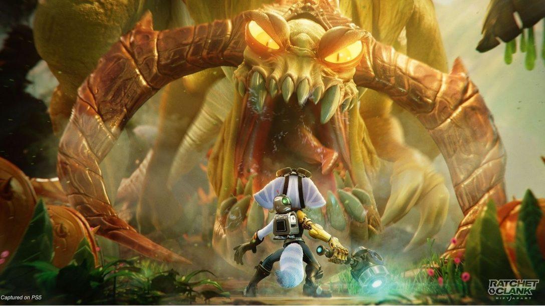 15 минут нового игрового процесса «Ratchet & Clank: Сквозь миры»