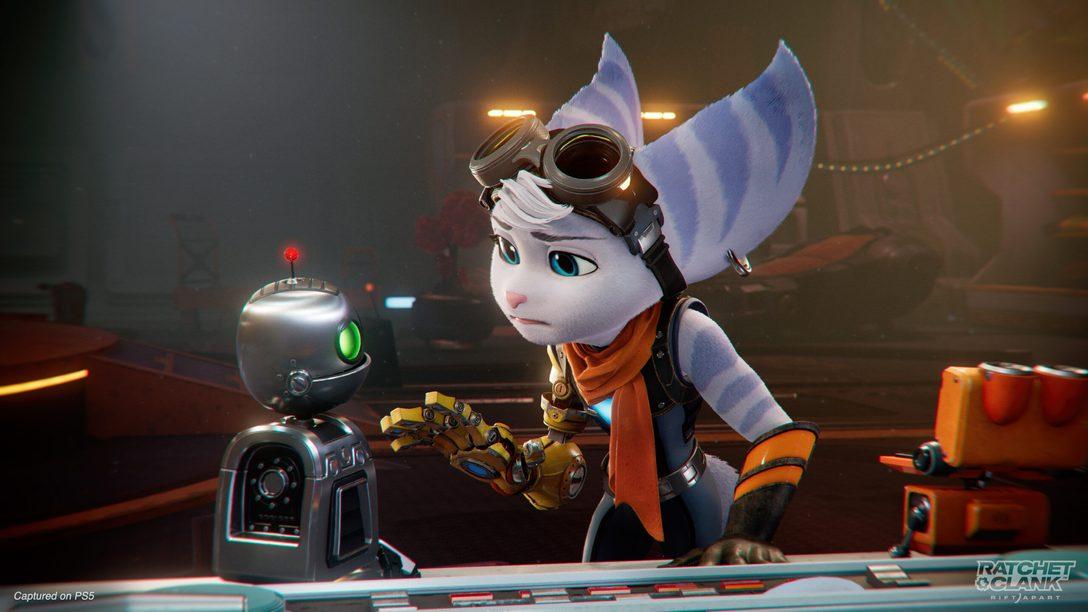 Знакомьтесь с Ривет – новым загадочным персонажем из «Ratchet & Clank: Сквозь миры»