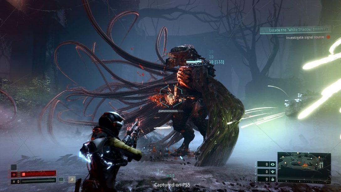 Секреты графического дизайна Returnal: интерфейс в концепции «геймплей превыше всего», «промышленная ностальгия», доступность для игроков и многое другое.