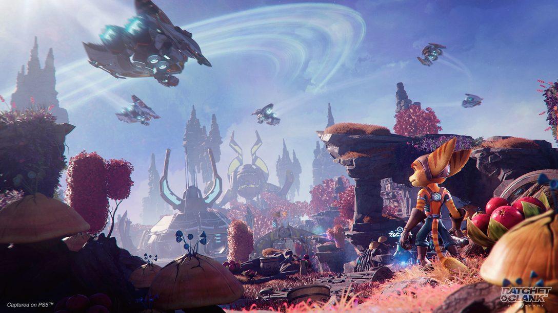 Смотрите последний выпуск шоу «Вечеринка Зуркона-младшего в честь почти выхода игры «Ratchet & Clank: Сквозь миры»».