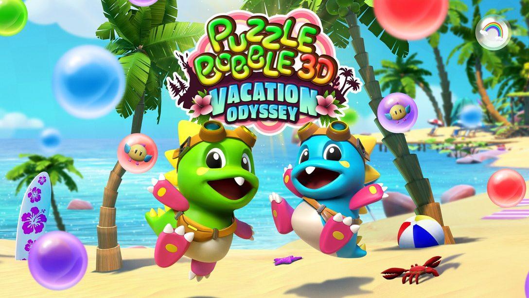 Игра Puzzle Bobble 3D: Vacation Odyssey раскроет новые грани лопания пузырей на PS VR, PS4 и PS5 чуть позже в этом году