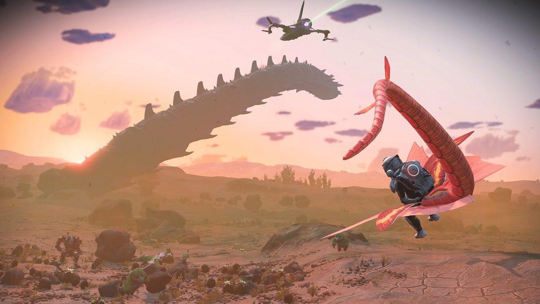 No Man's Sky: 21 улучшение графики в обновлении  Prisms придаст фантастическому приключению кардинально новый вид.