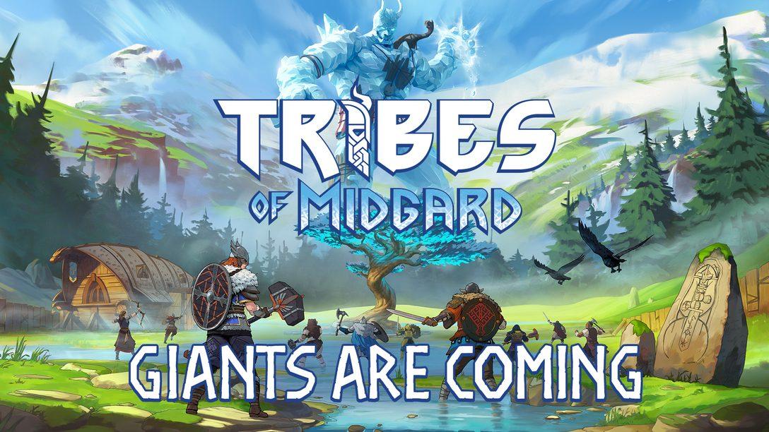 Tribes of Midgard, совместный экшен с элементами ролевой игры от Norsfell, выйдет 27 июля