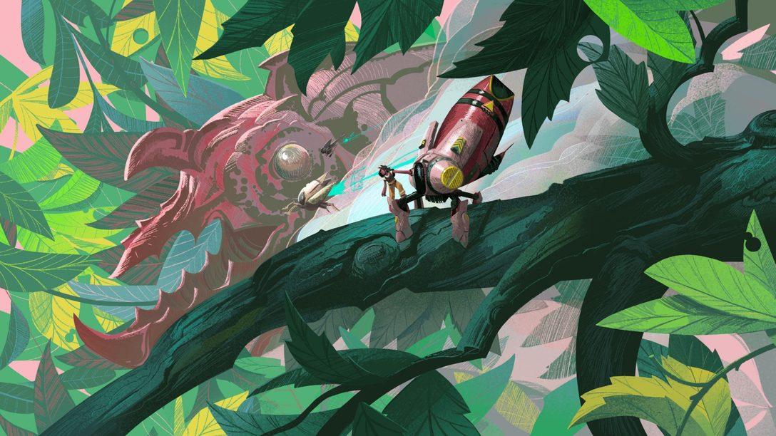Покажите жукам, кто здесь главный, в приключенческой игре Stonefly, которая выходит сегодня
