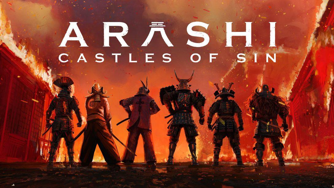Грядет шторм – завтра выходит Arashi: Castles of Sin