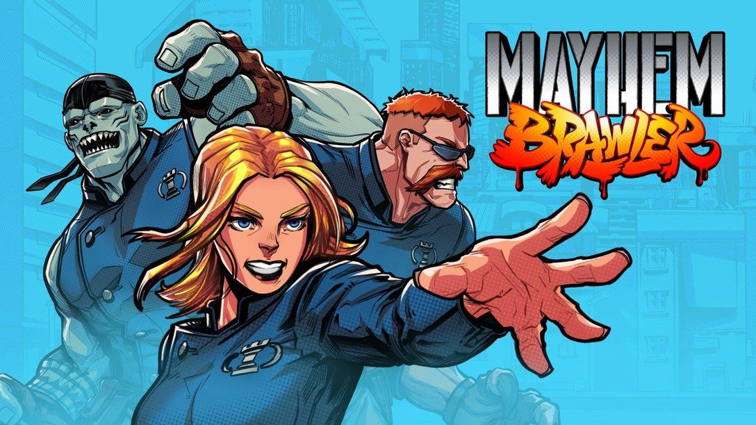 Как Mayhem Brawler превратилась из коллекционной карточной игры в сайд-скроллер