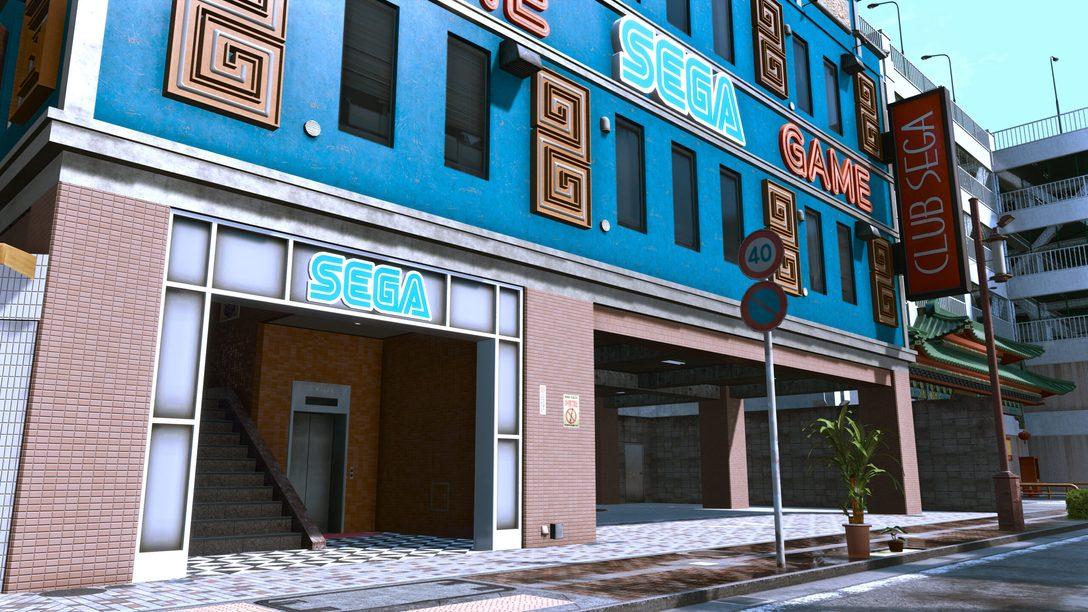 Классические игры Sega в Lost Judgment