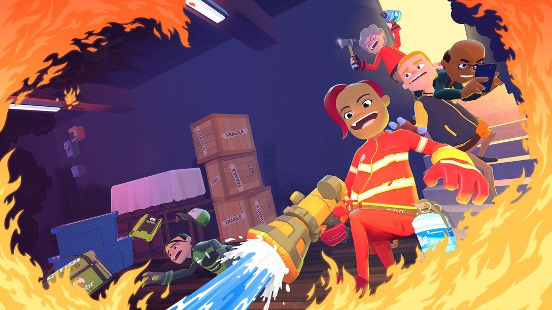 Станьте частным пожарным в безумной многопользовательской игре Embr – уже в продаже
