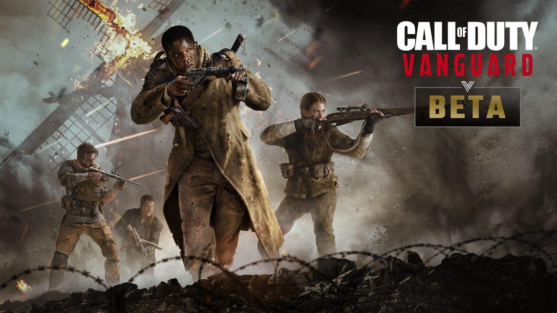 Представление и бета-тестирование многопользовательского режима Call of Duty®: Vanguard – сначала только на PlayStation®
