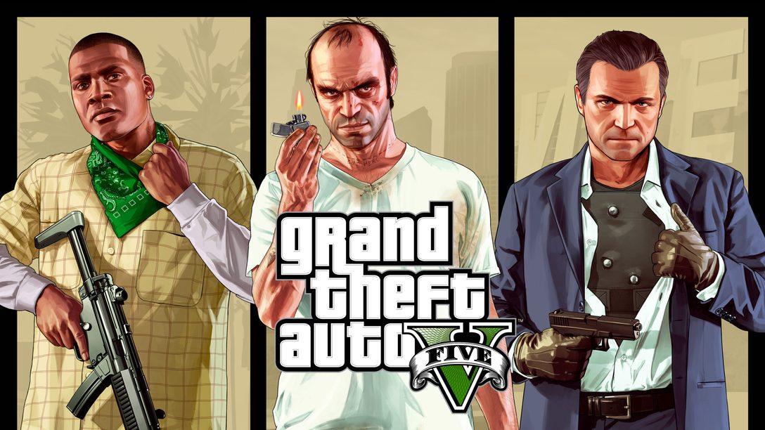 GTAV и GTA Online выйдут на PS5 в марте 2022 года