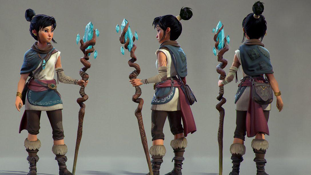 Как создатели вдохнули жизнь в главную героиню игры Kena: Bridge of Spirits