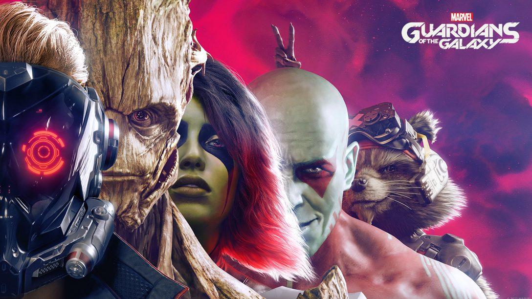 Сюжетный видеоролик «Стражи Галактики Marvel»