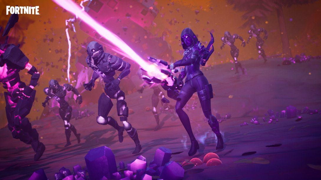 В восьмом сезоне второй главы Fortnite «Кубизм» вас ждёт встреча с тёмными силами