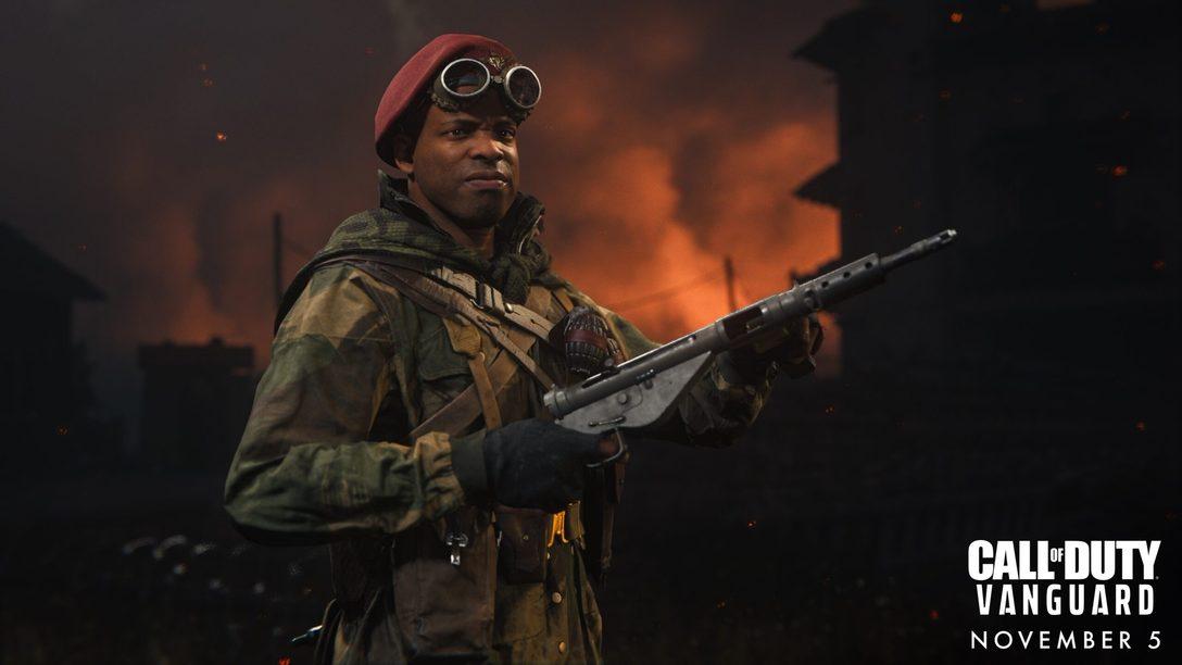 Встречайте четырех оперативников для многопользовательских режимов Call of Duty: Vanguard